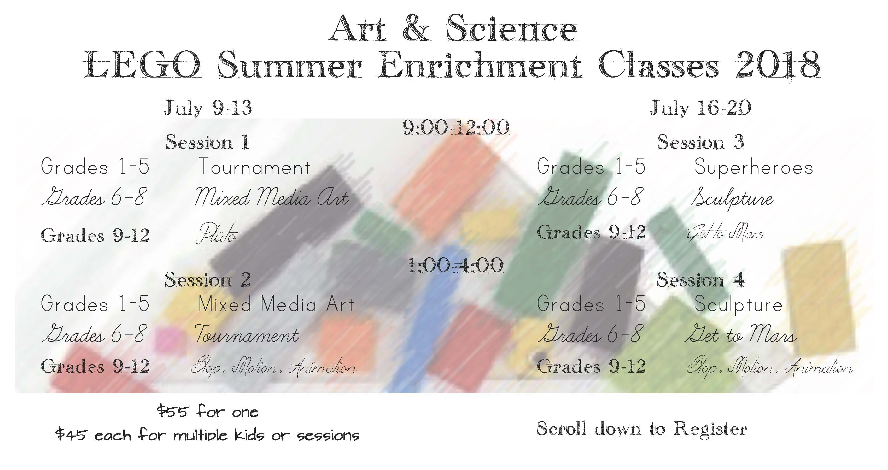Lego Summer Enrichment